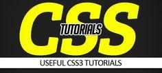 30 Useful CSS Tutorials – Designers Need to Know