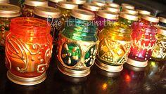 Baby food jar Moroccan lanterns