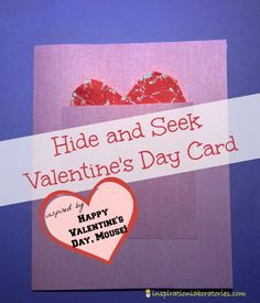 Hide and Seek Valentine's Day Card