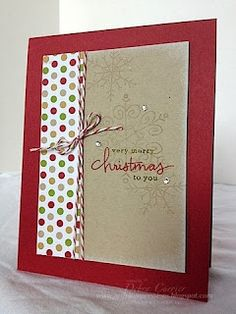 Stampin' Up! Christmas by ARTfelt Impressions: Endless Christmas Wishes
