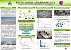 GPSC Student Showcase 2012: Biopolymer Stabilization for Mine Tailings Dust Control