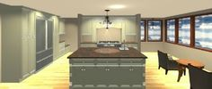 Free Professional Kitchen Design by TheRTAStore.com