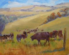Corral de Tierra Ranch, DAILY PAINTING #6 by Patricia Huber Oil ~ 8 x 10 rough luxe lifestyle friday fun stuff
