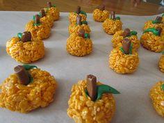 Pumpkin treats...