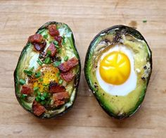 avacado egg recipes