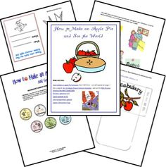 """Free Lapbook for """"How to Make an Apple Pie and See the World"""""""