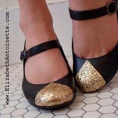 Glitter! Mod Podge! Shoes!
