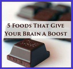 5 Foods That Give Your Brain A Boost
