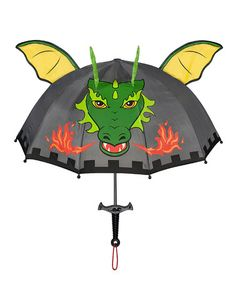 Take a look at this Green Dragon Umbrella by Kidorable on #zulily today!
