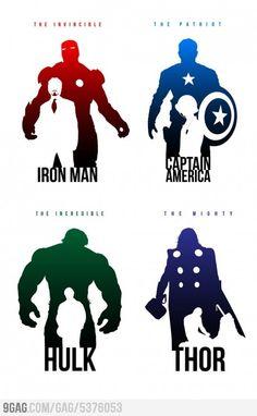 The Avengers identity