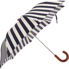 Umbrella in stripes