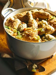 Chicken And Parsleyed Dumpling Stew