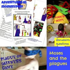 Moses and the plagues crafts and more