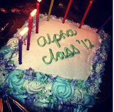 Initiation cake. initi cake