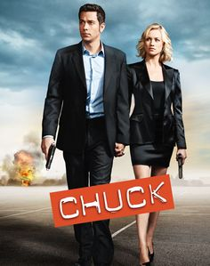 Chuck  Nerd begone! This Chuck poster plays things straight, embracing the sort of action-movie cliché that the show (and its posters) have always subverted. Beyond that, it sins by omitting any reference to the show's biggest new hook: This is the final season.