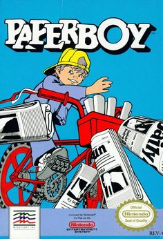 Paperboy for the NES.