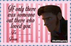 Frozen Valentine's Card