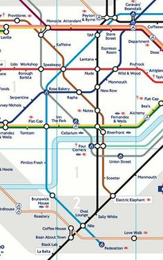 Map Shows Best Coffee Shops By Subway Stops | London