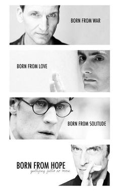 The Doctors of New Who