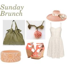 Sunday Brunch, created by gina7980 on Polyvore