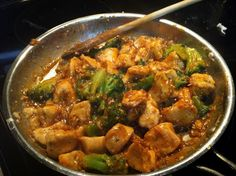 One Couple's Kitchen: Chicken & Broccoli Stir-fry