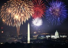 Washington D.C Firework show