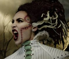 The Bride | MAC Cosmetics and Rick Baker Collection For Halloween 2013