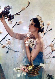 Madame Yevonde -- Flora