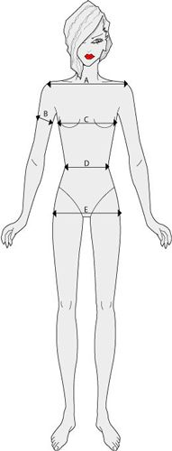Body Measurements Chart and Size Conversion Table