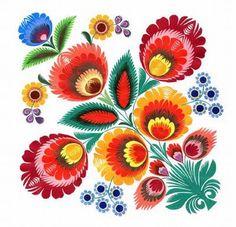 Polish Folk Art                                                Pisanki inspiration