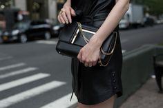 The Jimmy Choo ALBA Bag at New York Fashion Week