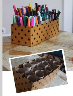 Pens and pencil holder
