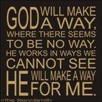 1760 - God will make a way stencilsmith