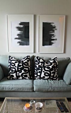 Peinture tableau abstrait en 2