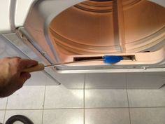 How to clean your dryer & avoid fire risk.