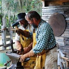 See Blacksmiths in action at Dudley Farm State Park
