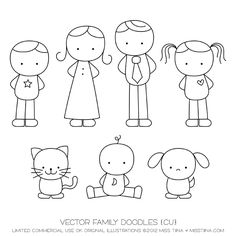 vector famili, famili draw, famili doodlesgreat, embroidery family, draw something, family drawing, families, scrapbook pages, kid
