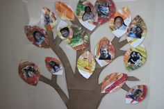 Use the leaves for the Thankful tree