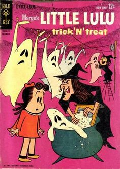 Image detail for -LITTLE LULU TRICK N TREAT #1 (1962)
