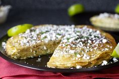 fresh corn crepe stack by smitten, via Flickr