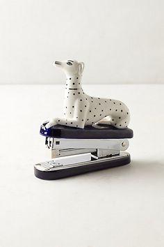 Dalmatian Stapler #anthrofav #greigedesign