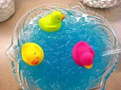 pool party punch: 1 gallon Hawaiian Punch (Polar Blast, it's blue); and 1-2 litters of 7-Up