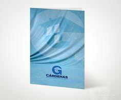 Diseño de Carpeta. G CÁRDENAS - Rehabilitación de Edificios - www.versal.net • Diseño Gráfico • Identidad Visual Corporativa • Publicidad • Diseño Páginas Web • Ilustración • Graphic Design • Corporate Identity • Advertising • Web Pages • Illustration • Logo