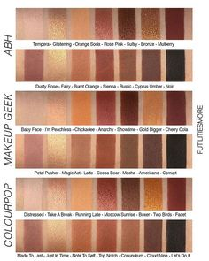 SOFT GLAM PALETTE VS