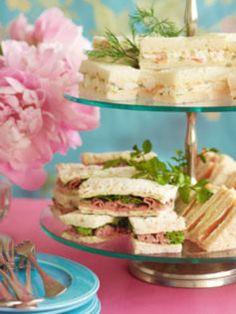 High Tea sandwich recipes