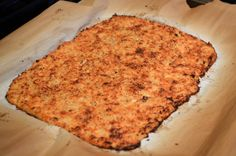 Cauliflower Parmesan Pizza Crust