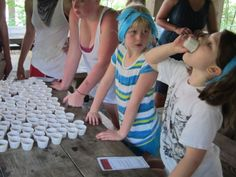 "Amazing Race and Survivor ""party"" ideas for kids -- solid ideas for camp event"