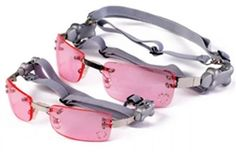 Pink K9 Optix™ Rimless with Rhinestones