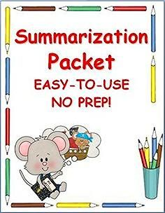 ELA SUMMARY PACKET~ This kid-friendly packet makes it easy for students to independently write summaries. Students follow step-by-step directions to create a clear, logical, and complete summary of any fiction or nonfiction selection. Teach the process one time, then let the students use it over and over, all year long!  #summary #summarization #packet #printables #handouts  $