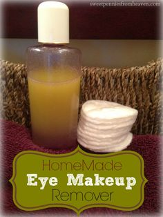 This is an easy peasy DIY eye makeup remover recipe. Only 2 ingredients and costs just $0.32 an ounce!!!